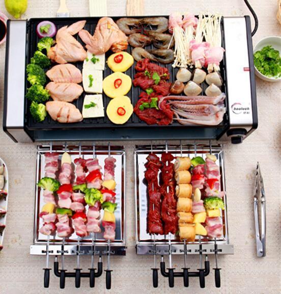 家庭,野外聚餐,自己动手健康美味的烧烤炉,吃货必备