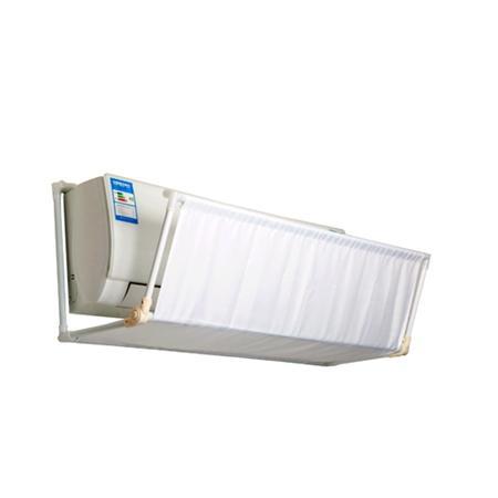 空调直吹易得空调病,聪明人都在装挡风板,既省电还保护家人健康