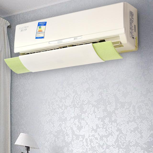 别傻傻的对着空调吹了,今年很火的空调挡风板,实用又时髦