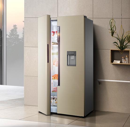 你家的冰箱用几年了?老化了就换最流行的对开门冰箱,超大空间