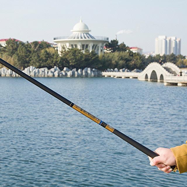 美钓家鱼竿手竿碳素超轻