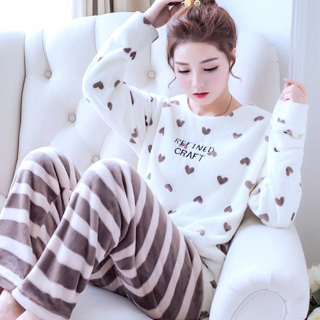 一件温柔又多情的法兰绒睡衣