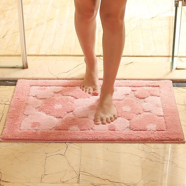 卫浴浴室吸水地毯防滑垫脚垫地垫