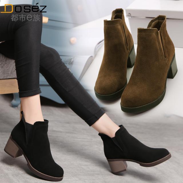 女人过30岁了就别穿平底鞋,今年流行这样的靴,穿上年轻像20