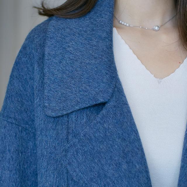 别买昂贵的羽绒服啦!这样的一体式羊绒外套,双11价更低更富态