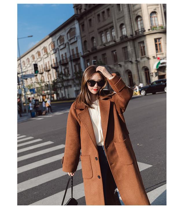 毛呢大衣实惠又耐穿,秋冬必备呢子大衣穿出小资气质