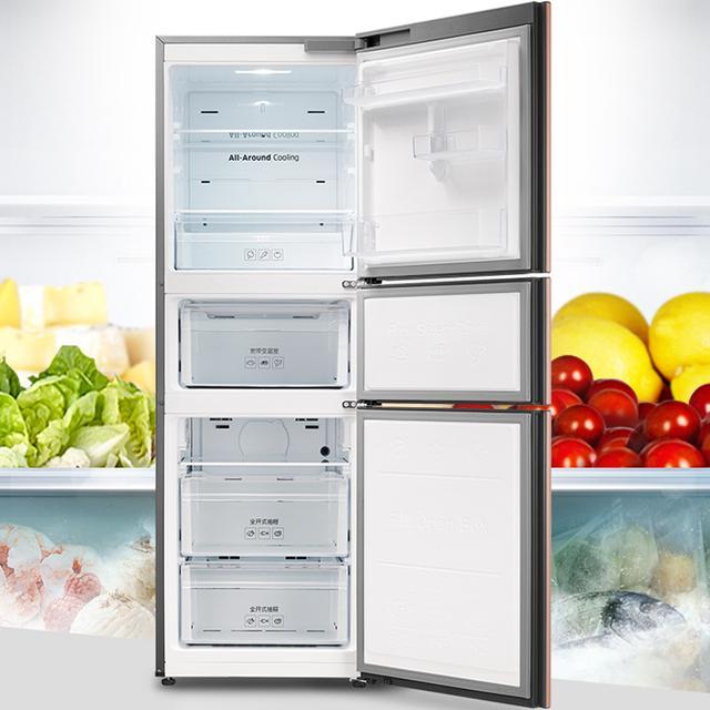 双门冰箱已过时,现今正流行的多门大容量,尤其第三款最受欢迎