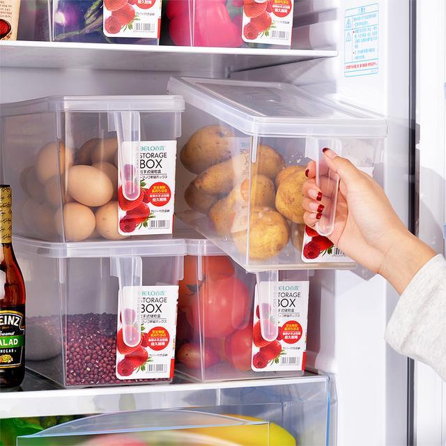 2个装冰箱保鲜盒厨房食收纳盒(带手柄)优惠券