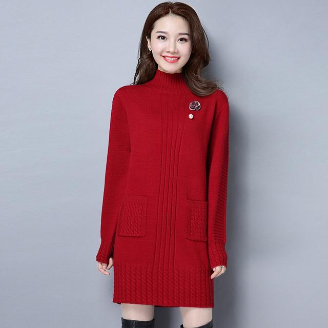 冬季新款羊毛衫中长款优惠券