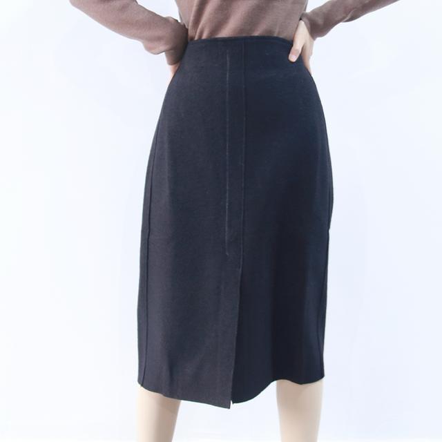 打底百搭半身裙前面开衩显瘦短裙 GZW0优惠券