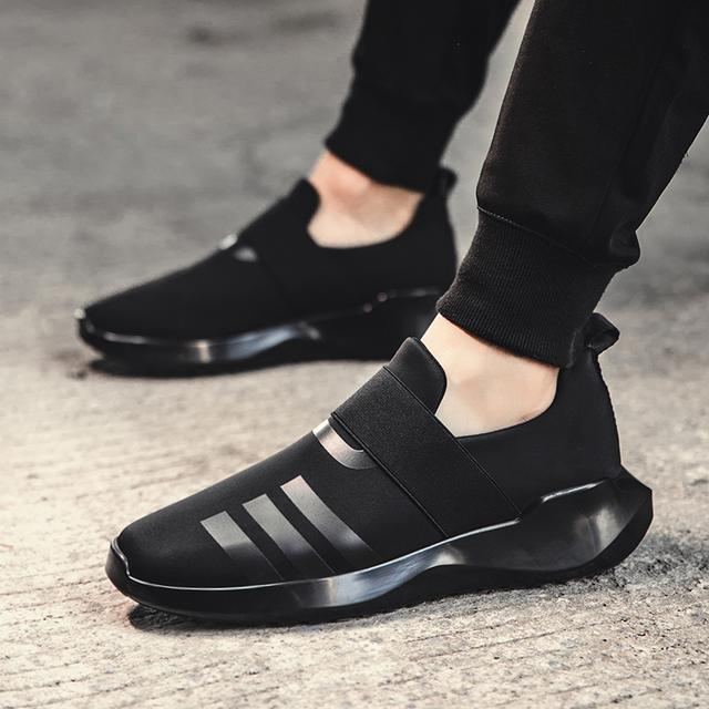 男鞋运动休闲鞋套脚板鞋男潮鞋透气鞋子男优惠券