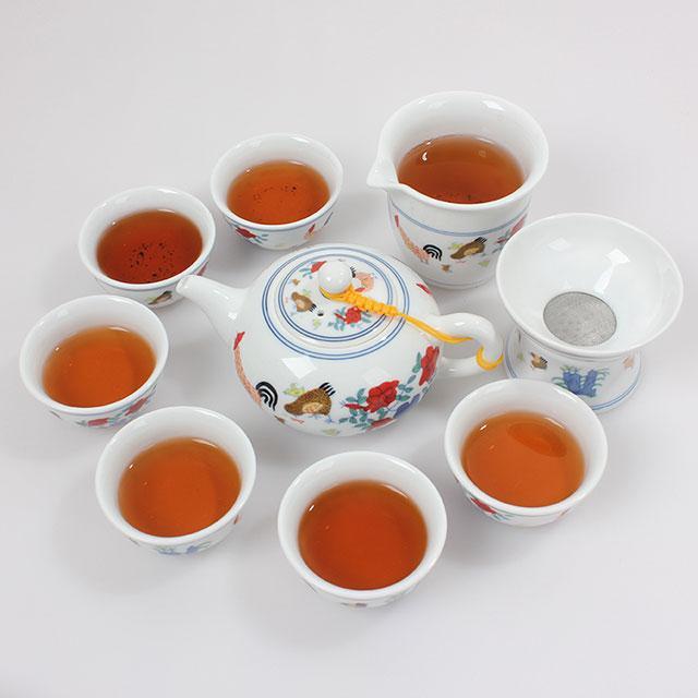【5折】手工陶瓷茶具套组礼盒装优惠券