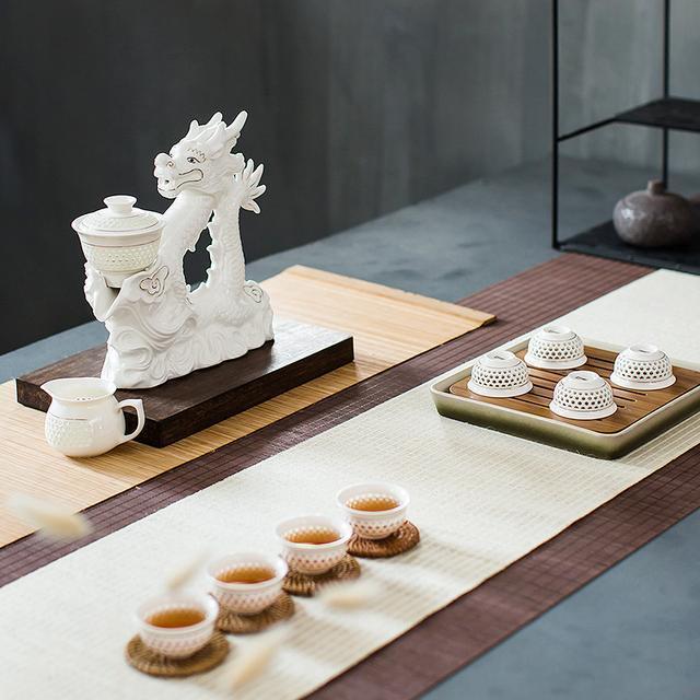 马到成功 陶瓷自动功夫茶具套装优惠券