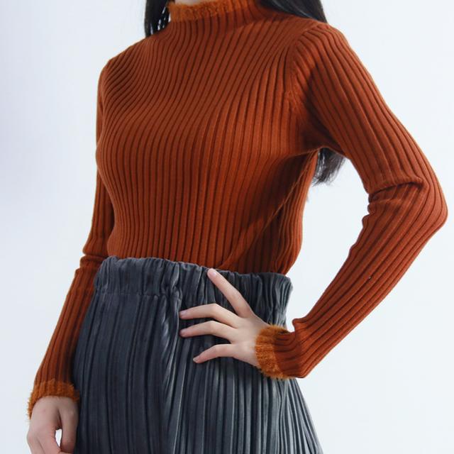 秋冬女针织打底衫保暖时尚百搭优惠券