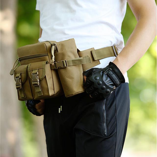 户外运动腰包男跑步手机包多功能防水优惠券