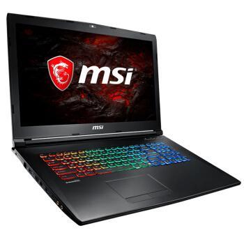 微星(MSI)GP72MVR 7RFX-621CN GTX1060 17.3英寸游戏笔记本电脑(i7-7700HQ 8G 1T+128GSSD 6G 多彩背光)黑优惠券