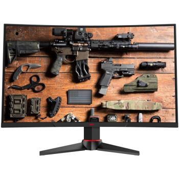 惠科(HKC)G271F 27英寸144Hz刷新1ms响应1800R曲面电竞吃鸡游戏组装台式电脑显示器(HDMI/DP/DVI接口)优惠券