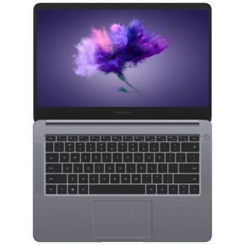荣耀MagicBook 14英寸超轻薄窄边框笔记本电脑(i5-8250U 8G 256G MX150 2G独显 指纹识别 正版Office)星空灰优惠券