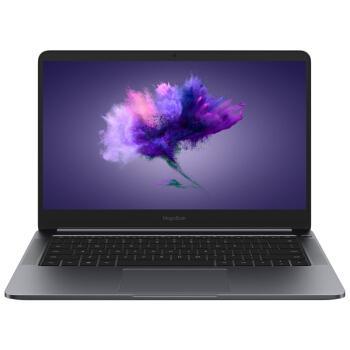 荣耀 MagicBook 14英寸超轻薄窄边框笔记本电脑(i5-8250U 8G 256G MX150 2G独显 指纹识别 正版Office)星空灰优惠券