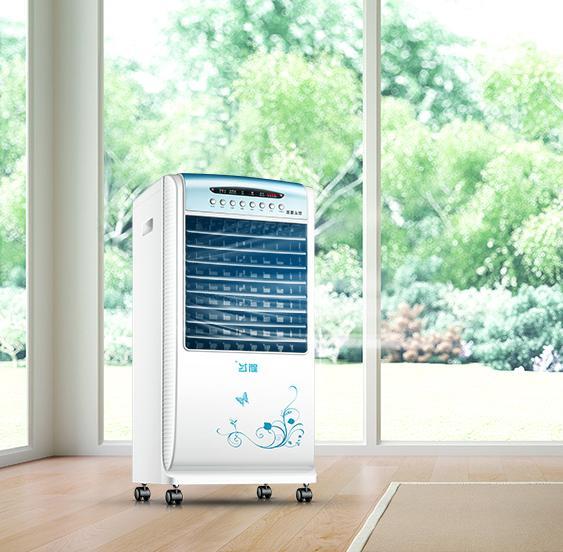 2代升级空调扇冷暖两用冷风扇加湿移动冷气扇遥控水冷风机优惠券