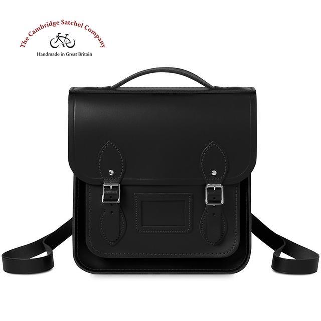 Cambridge Satchel英国剑桥包背包系列旅行包经典黑双肩包女包优惠券