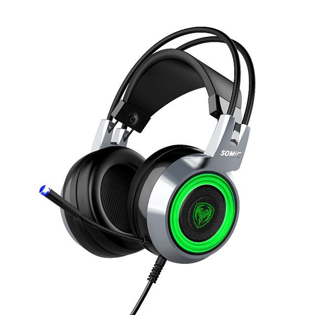 Somic/硕美科 G951头戴式游戏耳机7.1声道电脑电竞吃鸡重低音耳麦优惠券