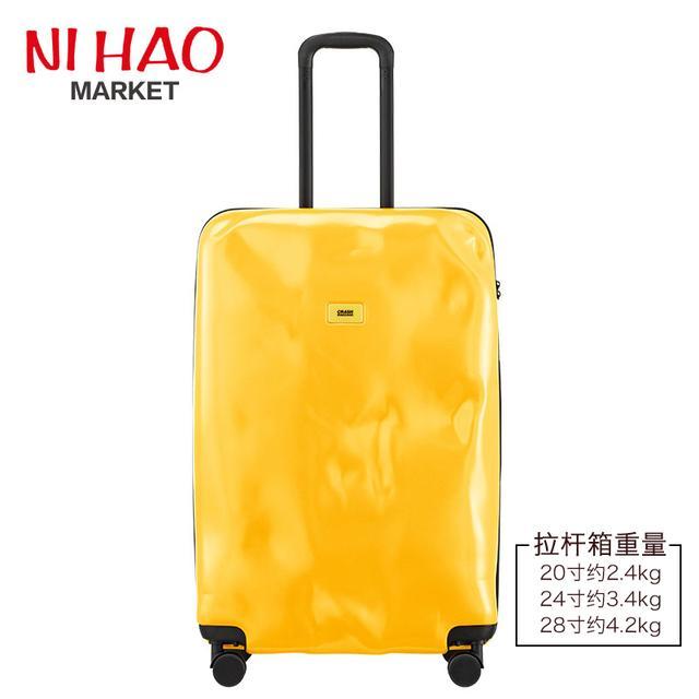 Crash Baggage万向轮箱 凹凸拉杆箱 登机箱破损旅行留学行李箱潮优惠券