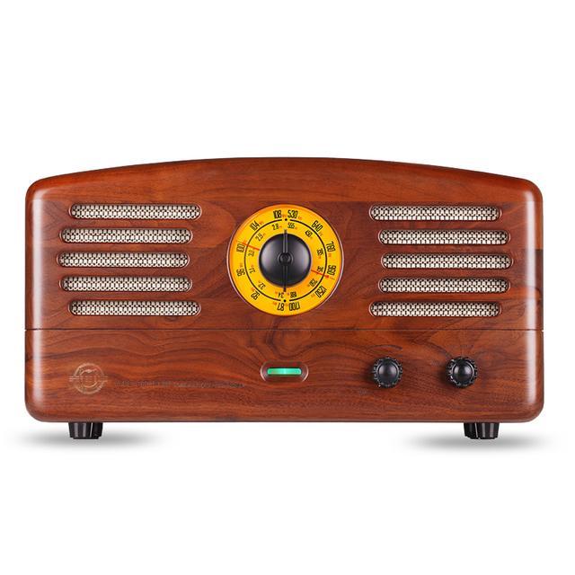 猫王收音机 R601BSW 猫王1胡桃木花梨木复古hifi音响无线蓝牙音箱优惠券
