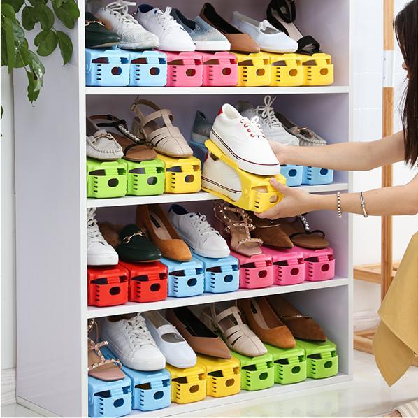 【10双】收纳鞋柜鞋架鞋托 生活日用家居优惠券