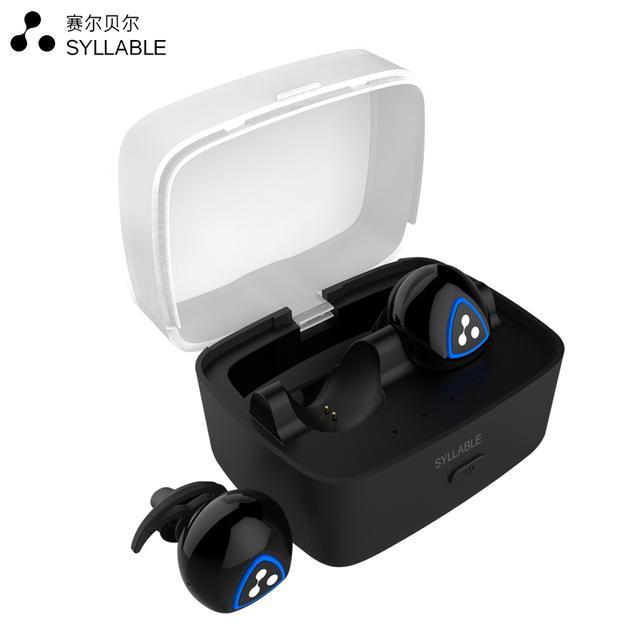 SYLLABLE/赛尔贝尔 D900S 无线蓝牙耳机运动耳塞式迷你入耳式双耳优惠券