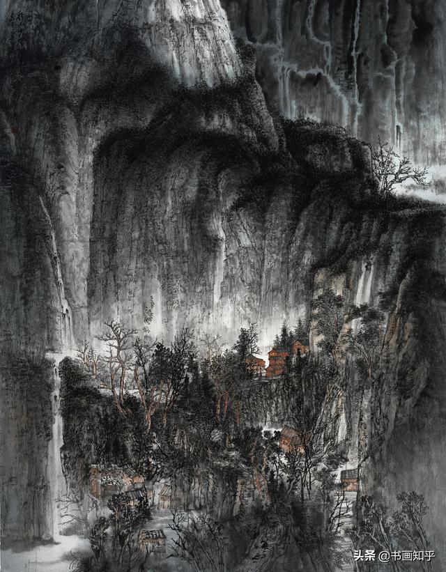 韩玉玲作品矛盾空间中的有序画面