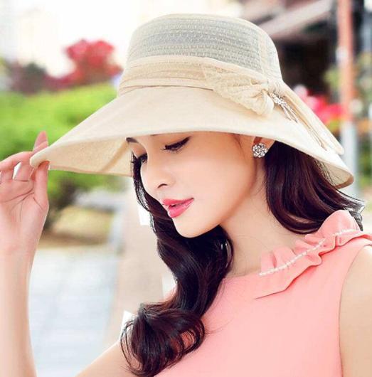 """今年流行的""""遮阳帽"""",又上新了!不俗不媚,美的让人目不暇接"""