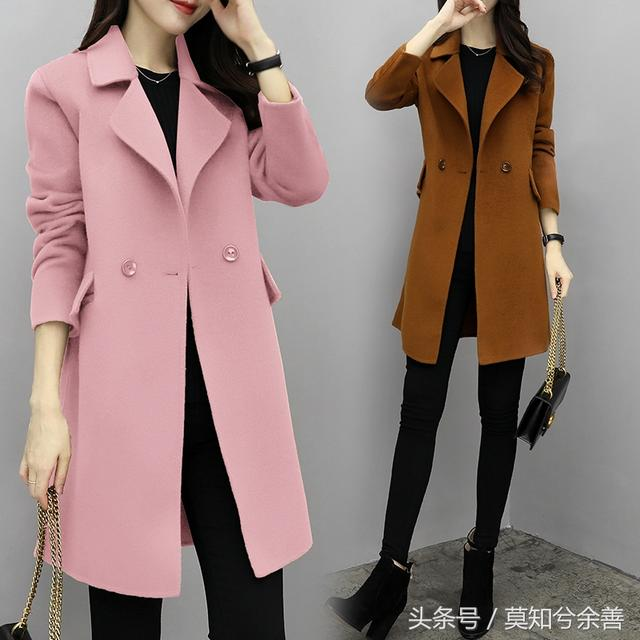 把棉衣都比下去的外套,一款比一款洋气,花光工资也要买三五件穿