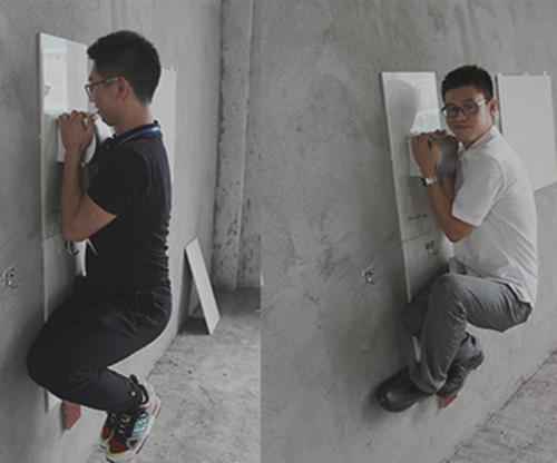 """别傻傻往墙上电钻打孔!现流行""""液体钉"""",墙壁0伤害,永不脱落"""