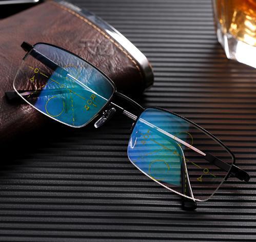 男人一旦过50,别带老花镜,建议戴德国眼镜,自动对焦,很划算