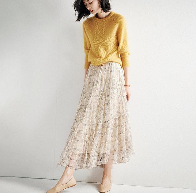 """下个月母亲节,建议为婆婆选一款""""优雅半身裙"""",特有女人味!"""