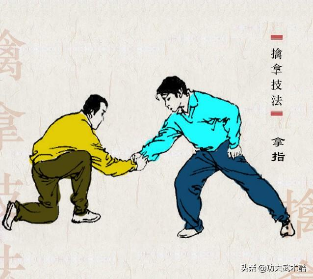 图解中国传统武术擒拿经典25招,普通人防身自卫的实用妙招
