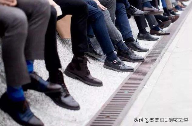 """有一种男鞋:叫""""皮运动鞋"""",透气不捂脚,出游开车穿正好"""