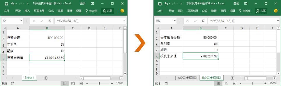 Excel中财务函数与格式单位的转换