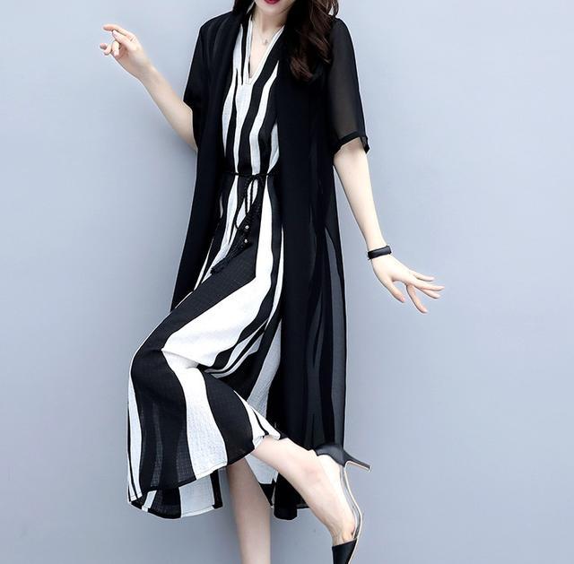微胖MM连衣裙穿搭,美丽遮肉显瘦,散发优雅魅力,尽显成熟女人味