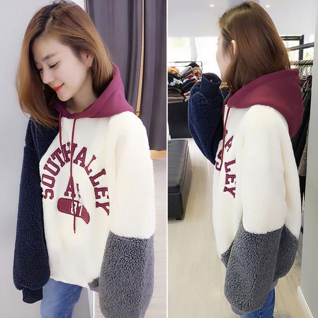 愿少买件毛衣,也要有件卫衣,款款保暖时髦,上身忒洋气