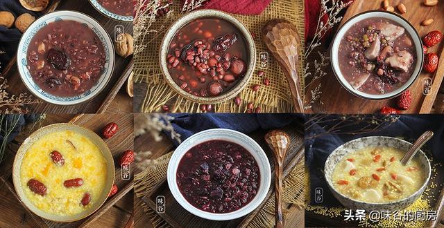 立冬前后多喝粥,7种营养粥的做法,一周不重样,温暖你的胃
