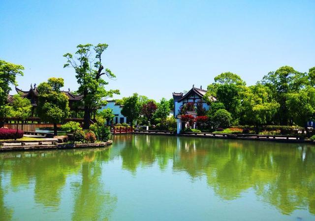 园林庭院水景精美图片欣赏