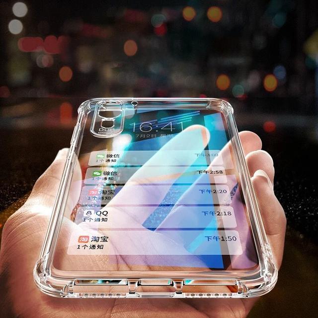 """建议拿华为手机的人:塑胶壳扔了,换上""""空气壳"""",拿出手特有面"""