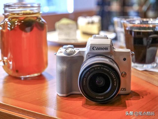 女友的新手摄影教具,佳能EOSM50微单套机点评