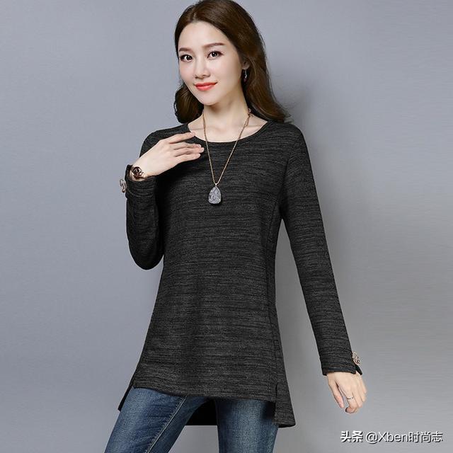 """谁说女人穿裙才美?瞧瞧下面这女人,穿起""""黑丝衫"""",完爆穿裙女"""