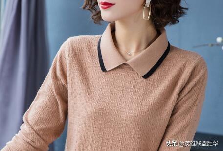 """女人再有钱,也一定少穿卫衣,瞧瞧下图""""针织衫"""",谁穿谁美"""