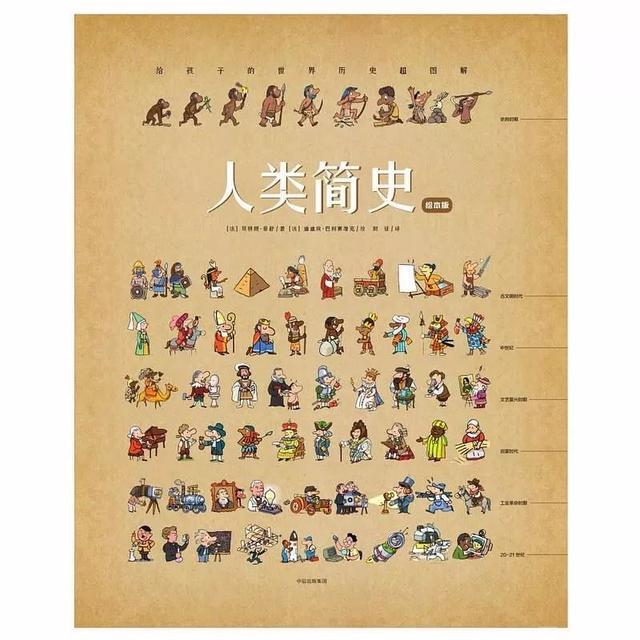 惊艳了无数家长的《人类简史》绘本版,推荐五星收藏