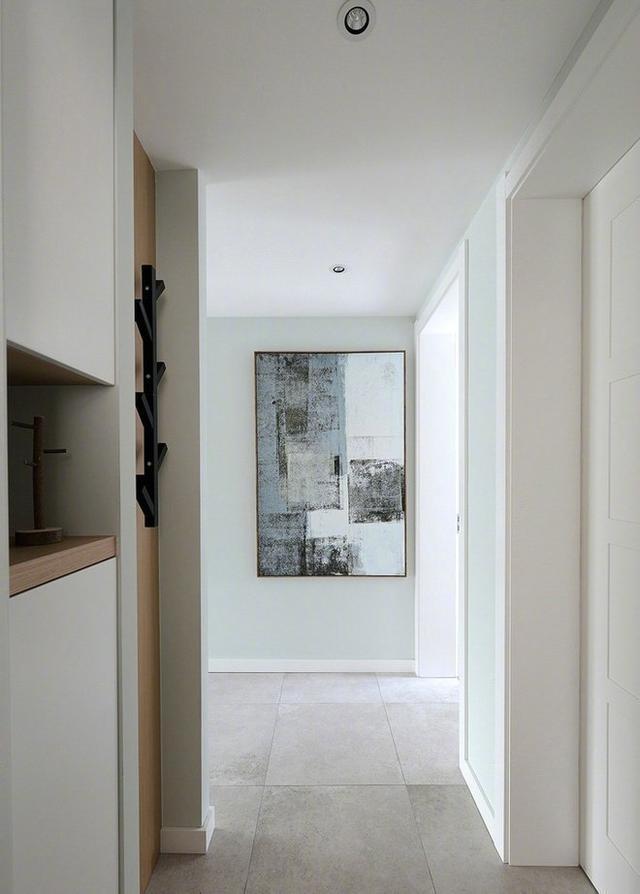 80平方米现代风格的公寓,装修设计超清新自然,简约设计迷人