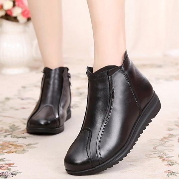"""不是我吹,这款""""妈妈鞋""""一夜火了,超保暖,一下给妈妈买了四双"""